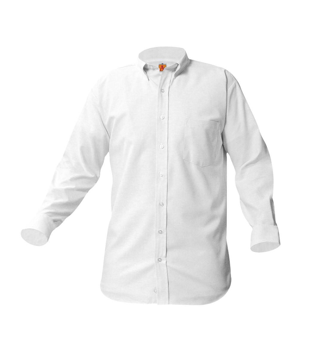 fa19ab44dc5 Boys  Long Sleeve Oxford Collar Shirt (3 Pc. Pack)